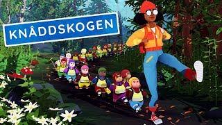 МАША РАСТЕРЯША потеряла ДЕТЕЙ В ЛЕСУ! Веселая мультяшная игра для детей Knoddskogen