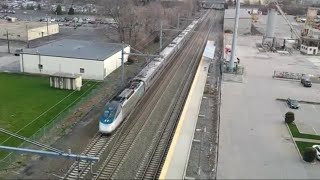 Railfanning T.F. Green Airport and South Attleboro Stations