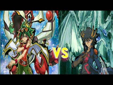 Yu-gi-oh! Arc v special tag force: Yuya vs Yusei  