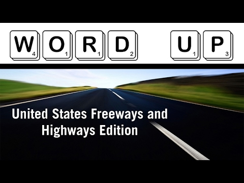 Word Up: United States Freeways and Highways