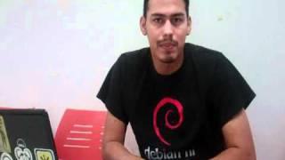 Eduardo Rosales, Coordinador de la Conferencia Debian 2012, 8 de abril de 2011