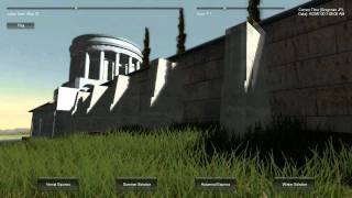 Solar Tracking and Virtual Simulation of Hadrian's Villa in Unity 3D