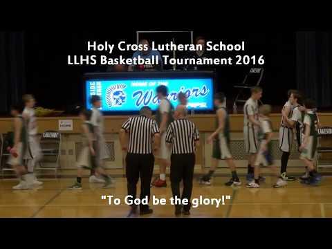 HCLS - Lakeside Lutheran High School A Boys Basketball 2016