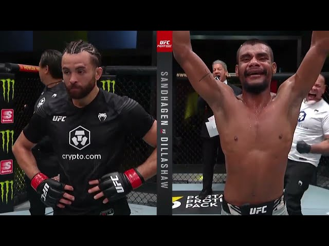 Raulian Paiva Octagon Interview   UFC Vegas 32