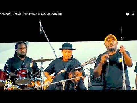 ANSLOM -  LIVE TEAM PNG CELEBRATION CHM SUPERSOUND CONCERT 2015