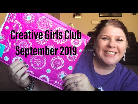 CREATIVE GIRLS CLUB// SEPTEMBER 2019// MONTHLY CRAFTS FOR GIRLS 7-12