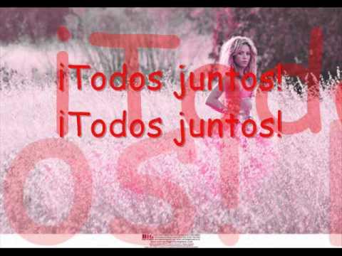 Shakira - Todos Juntos ( Dora ) + Lyrics On Screen