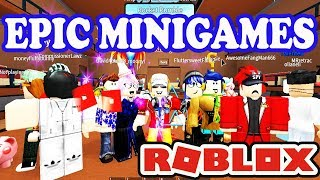 Epic Minigame with some Epic Friends! - Roblox Group Collaboration with Viewers