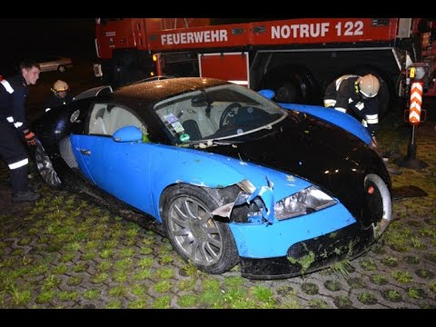 Crashed Bugatti Veyron on sale for just $250K by Insurance Company Axa
