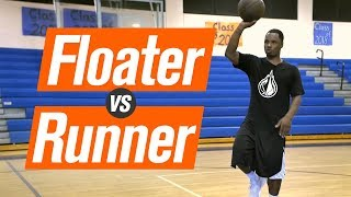 The FLOATER v.s. The RUNNER with Coach KP Potts
