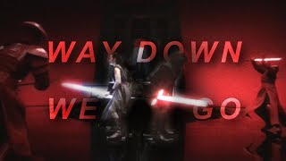 Reylo || Way Down We Go (star wars tribute) [+TLJ Spoilers]
