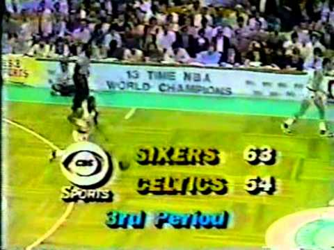 Larry Bird Greatest Games: 32 Points vs 76ers (1981 ECF Game 5)