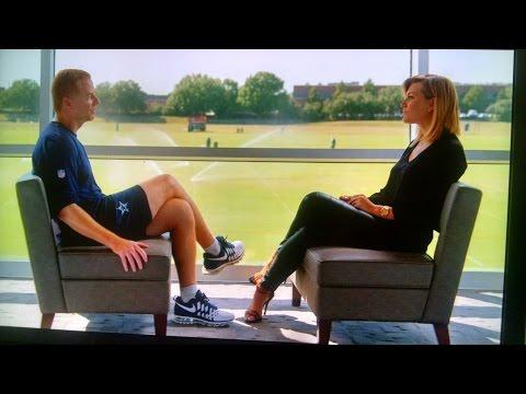Charissa Thompson and Jason Garrett - Dallas Cowboys
