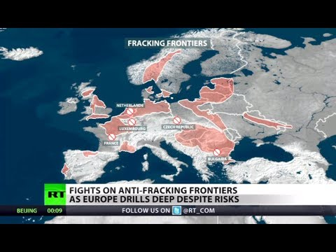 Not For Shale: Anti-fracking protests as Europe drills despite risks