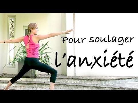 yoga pour soulager l 39 anxi t et le stress youtube. Black Bedroom Furniture Sets. Home Design Ideas