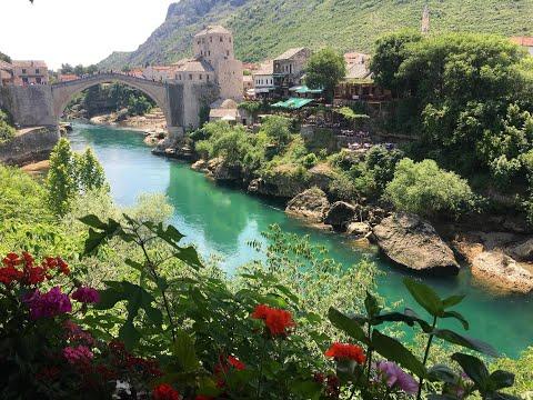 Mostar The fairy tale city, must see in Bosnia & Herzegovina GoPro HD