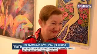 У міській художній галереї стартував Всеукраїнський проект живопису ''НЮ-АРТ''. Вхід: 18+