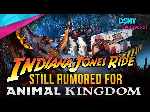 INDIANA JONES Rumored To Replace DINOSAUR at Disney's Animal Kingdom - Disney News - 5/17/18