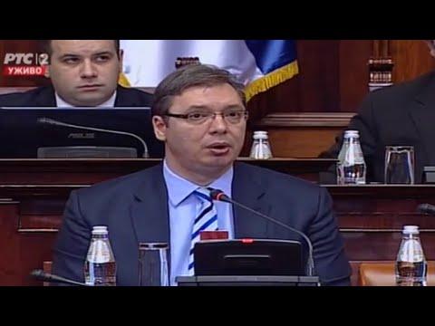 Uvodni govor - Narodna Skupština Republike Srbije (02.03.2016.)
