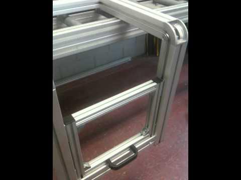 Curva para perfil de aluminio youtube - Perfiles de aluminio para muebles ...