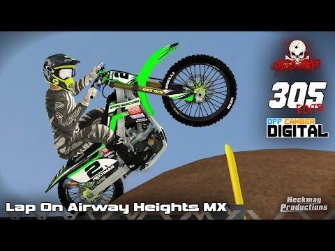 Mx Simulator   Lap at Airway Heights MX (1:36.7)