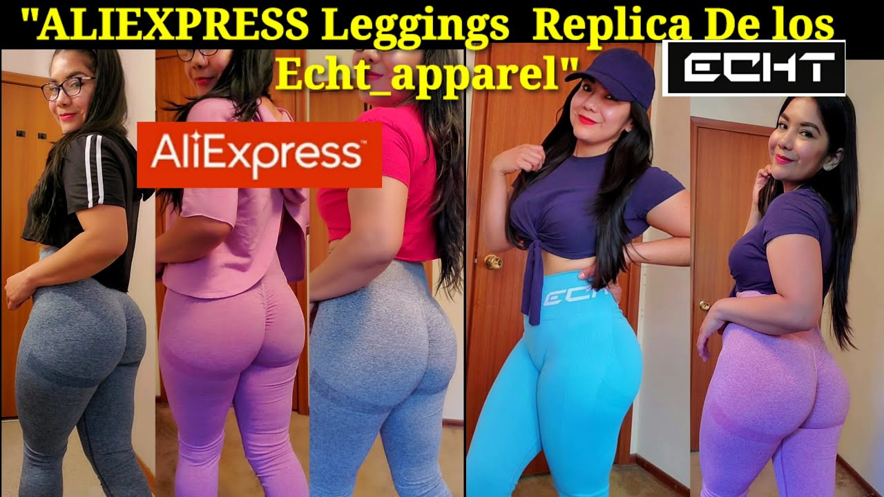 """ARISE SCRUNCH  Leggings por#AliExpress ""(Replica de ECHT APPAREL)"
