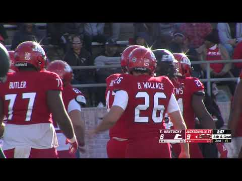 Jacksonville State Football 2019 - Vs. Eastern Kentucky