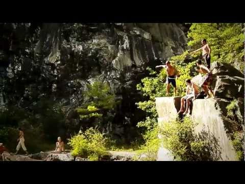 Cliff Jumping 2012 // West Stockbridge Quarry, MA