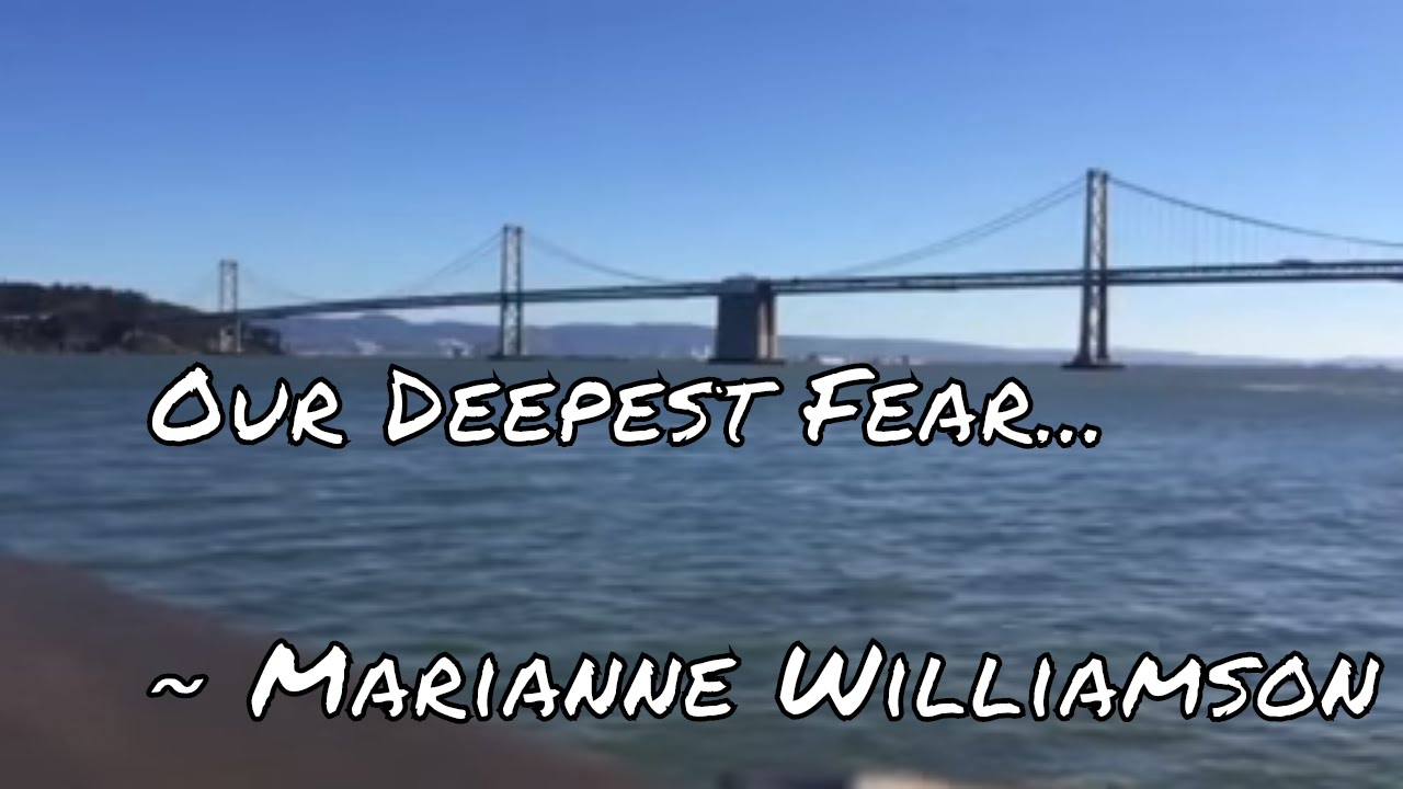 marianne williamson our deepest fear poem pdf