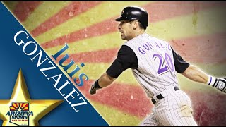 Luis Gonzalez's 2015 Arizona Sports Hall of Fame Inductee Video