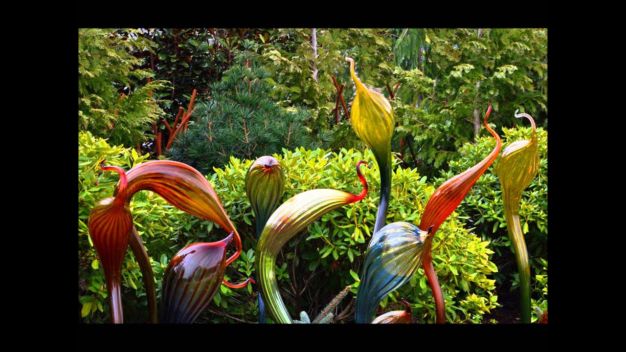 Chihuly Garden And Glass In Early April Youtube