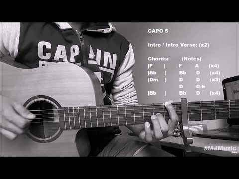 In My Blood (Shawn Mendes)    Guitar Chords Tutorial - MJ   