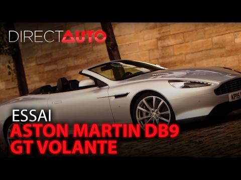 Essai - ASTON MARTIN DB9 GT VOLANTE
