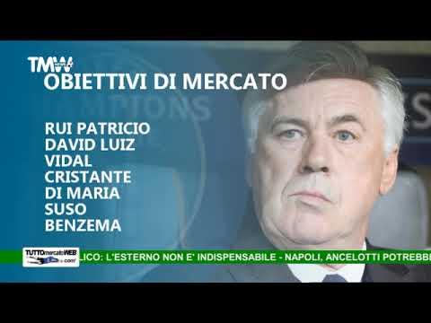 TMW News: Napoli, inizia l'era Ancelotti