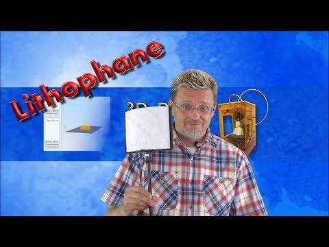 3D Druck - Lithophane-Leuchte