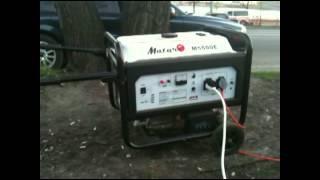 Бензиновый генератор Matari M5500E(, 2012-11-06T21:32:52.000Z)