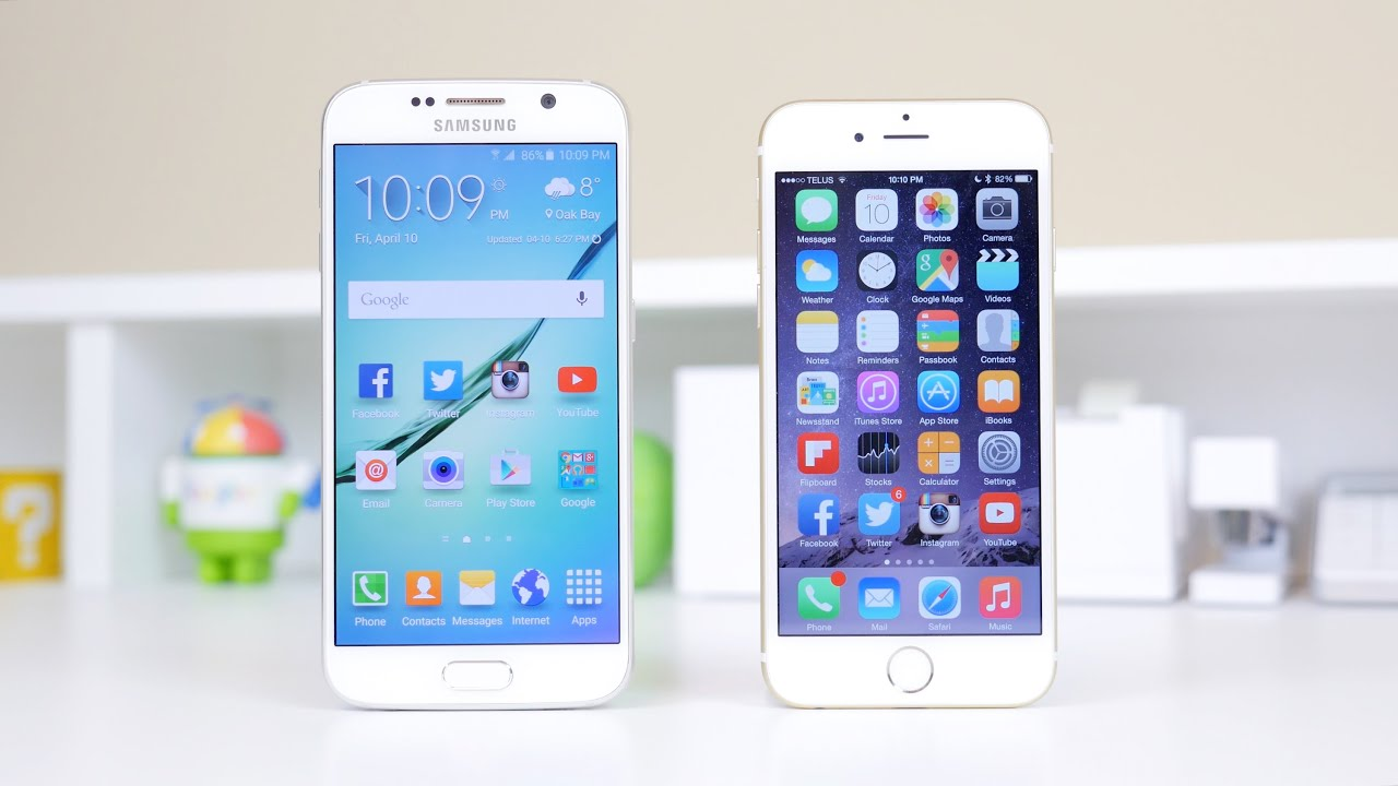iphone 6 vs samsung