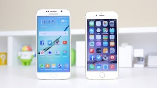 Apple iPhone 6 vs Samsung Galaxy S6