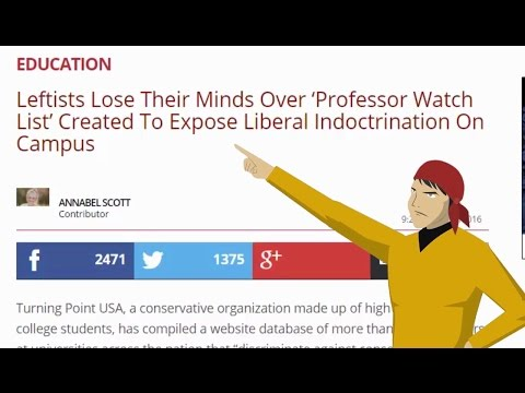 A Watchlist for Leftists - A Great Idea