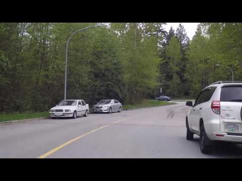 Burnaby City - Suburb of Vancouver Canada - Driving & Exploring Condos in South Area