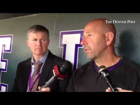 Walt Weiss talks about Wilin Rosario and Michael McKenry trading spots. #Rockies