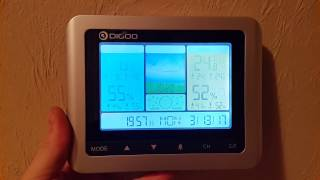 digoo dg th8888pro color wireless weather station