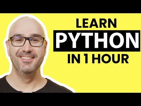 Python Tutorial for Beginners - Learn Python in 1 Hour