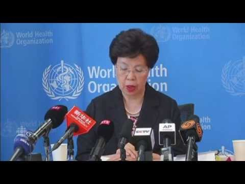 WHO chair, Margaret Chan on Ebola crisis