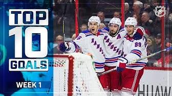Top 10 Goals from Week 1   2019-20 NHL Season