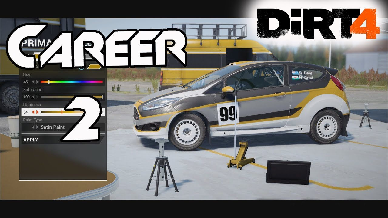 DiRT 4 Gameplay Career Mode Part 2: CREATING OUR OWN RALLY TEAM ...
