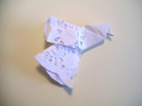 Easy Christmas Paper Dove