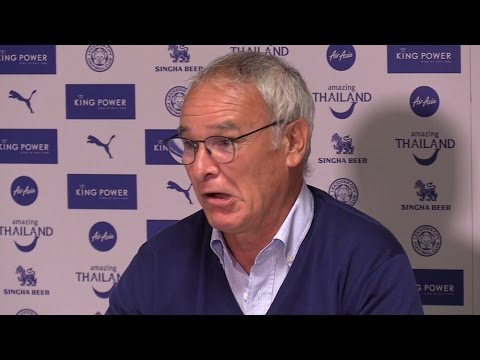 Claudio Ranieri's Full Pre Match Press Conference Before His Sides Clash With Man Utd