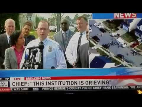 Prince George's County Police Officer Killed from Domestic Violence Situation