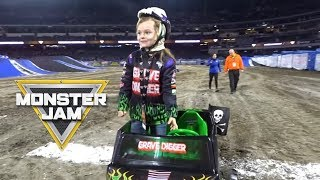 Monster Jam Anaheim Stadium 01/12/2019 | Sawyer's Adventures